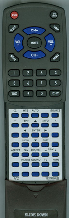 WESTINGHOUSE RMT-23 Custom Built Redi Remote