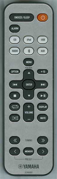YAMAHA ZC893200 ZC89320 Genuine OEM Original Remote