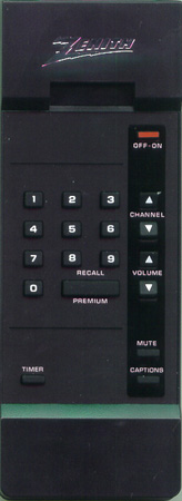 ZENITH 124-00157-14 Genuine  OEM Original Remote