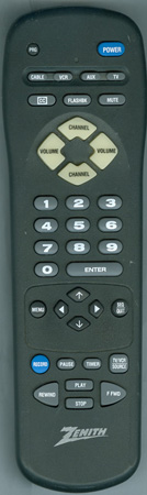 ZENITH 124-00212-01 MBR3445 Genuine  OEM original Remote