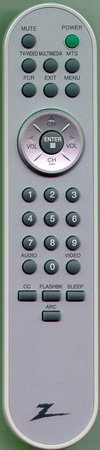 ZENITH 6710T00008U Genuine  OEM Original Remote