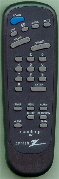 ZENITH 6710V00108D SC3492 Genuine  OEM Original Remote