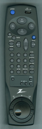 ZENITH 6711R2N004A Genuine  OEM Original Remote