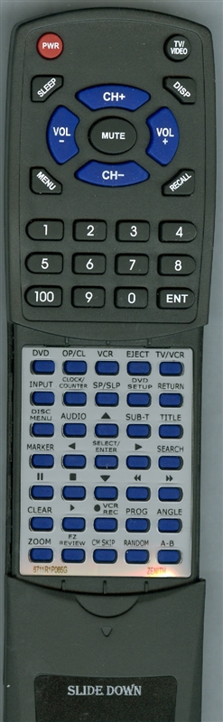 ZENITH 6711R1P065G Custom Built Replacement Redi Remote
