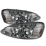 Pontiac Grand Prix 04-08 Halo Projector Headlights - Chrome