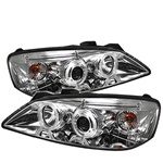 Pontiac G6 05-08 Halo Projector Headlights - Chrome