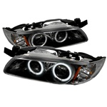Pontiac Grand Prix 97-03 1PC CCFL Projector Headlights - Black