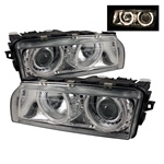 BMW 7 Series E38 95-98 Projector Headlights - Chrome
