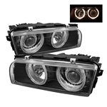 BMW 7 Series E38 95-98 Projector Headlights - Black