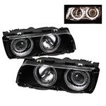 BMW 7 Series E38 99-01 Projector Headlights - Black