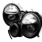 96-99 M-Benz E Class W210 Projection Headlights - Black