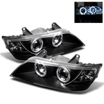BMW Z3 96-02 Halo Projector Headlights - Black