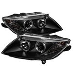 BMW Z4 03-08 ( HID Type ) Halo Projector Headlights - Black