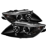 BMW Z4 03-08 Halo Projector Headlights - Black