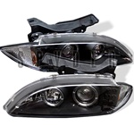 Chevy Cavalier 95-99 Halo Projector Headlights - Black