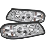 Chevy Impala 00-05 Halo LED Projector Headlights - Chrome
