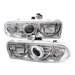 Chevy S10 98-02 CCFL Projector Headlights - Chrome