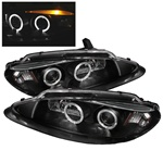 Dodge Intrepid 98-04 Halo LED Projector Headlights - Black