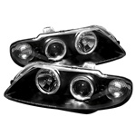 Pontiac GTO 04-07 Halo LED Projector Headlights - Black