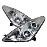 Toyota Celica 00-05 CCFL Projector Headlights - Chrome