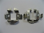 This H7 light bulb metal clips will help you to hold the H7 HID bulbs for the Mercedes Benz. (one pair)