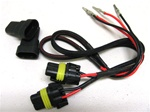 9006  HID ballast wires (one pair)