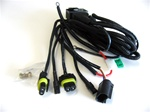 H13 HID Bi-Xenon replacement harness