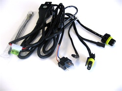 H4 HID Bi-Xenon replacement harness