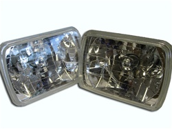 Sealed Beam HID H4 conversion Clear Head lights housing