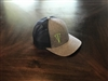 Heather Grey and Navy Blue Mesh Dagger SnapBack