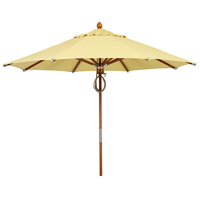 Wood Umbrella 11 Foot Diameter