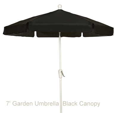 7.5 Foot Market Umbrella <br>with Olefin Top