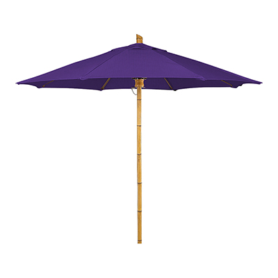 9 Foot Octaganol Bambusa Umbrella