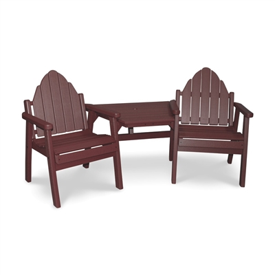 "Adirondack Dining Chair Tete-a-Tete 20"" Seat"