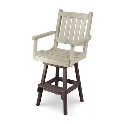 Bar Height Day Break Chair with Swivel Flex