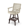 Bar Height Garden Chair <br>with Swivel
