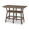 "36"" x 58"" Bar Height Table with 6 Bar Stools"