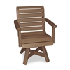 Garden Chair - Narrow Seat with Swivel Flex
