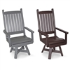 Days End Dining Chair with Swivel and Narrow Seat