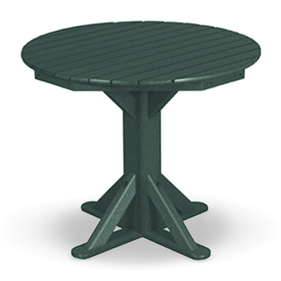 "36"" Cafe Pedestal Dining Table"