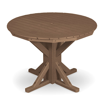 "42"" Round Table with 4 Swivel Flex Chairs"