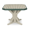 "38"" Square Pedestal Dining Table"