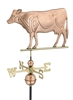 Dairy Cow - Polished Copper