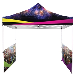 UV Printed Full-Colour Canopy Tent with Side Walls