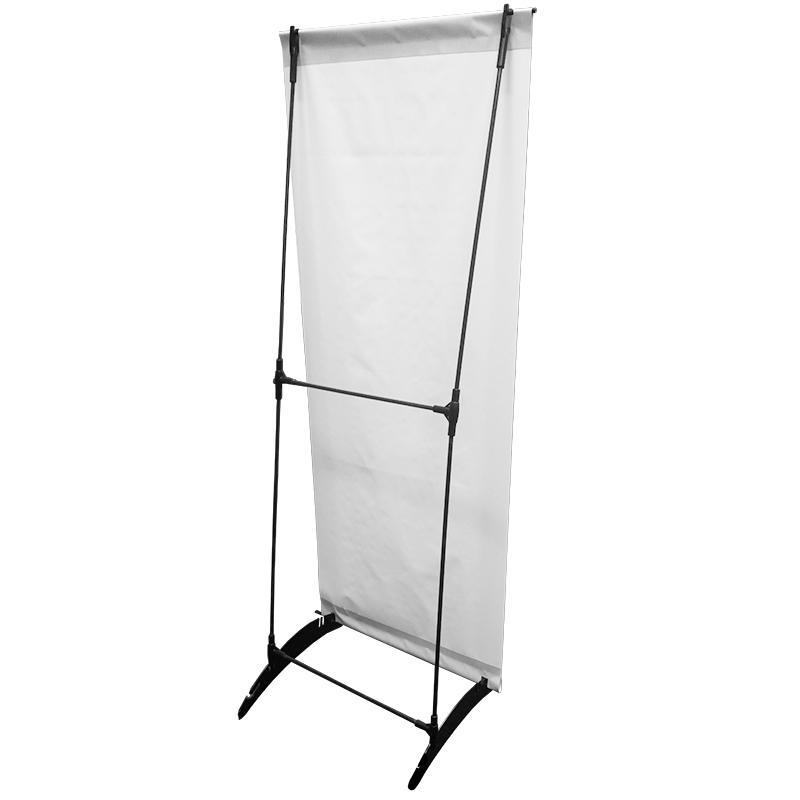 24 quot x 63 quot h banner stand
