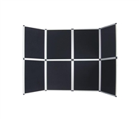 8 Panel Velcro Presentation Display Board