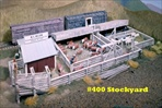 Stockyard Kit HO scale