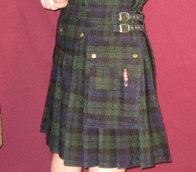 Hybrid Kilt - Black Watch Tartan