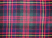 Acrylic Sash - Cameron of Erracht Tartan - Special Order (8 week delivery)