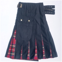 Tartan in Pleat kilt